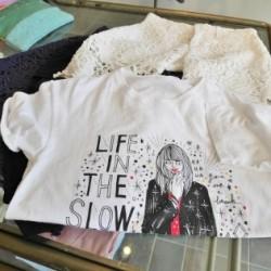【NINE×SHOGO SEKINE】グラフィックTシャツ。