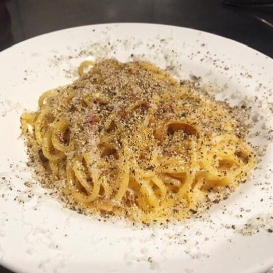 中目黒【イタリアンバル・マルテ】の辛ボナーラ&ウニグチュ