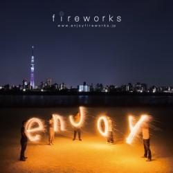 玩具花火ブランド fireworks「小さな花火大会」全国各地で開催