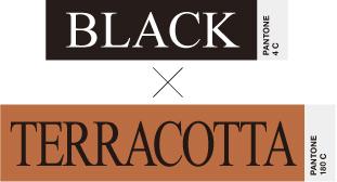 BLACK×TERRACOTTA