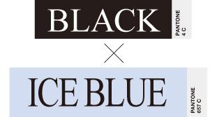BLACK×ICE BLUE