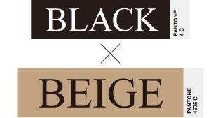 BLACK×BEIGE