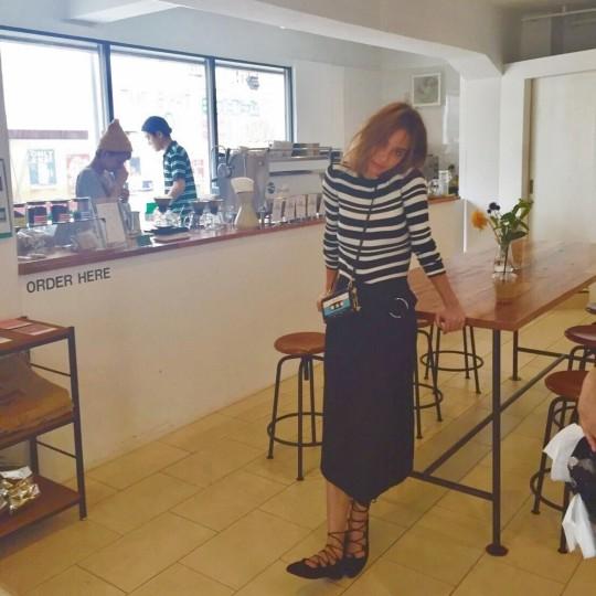 【ロケ地紹介】滝沢カレンと訪れた本格コーヒーが楽しめるカフェ