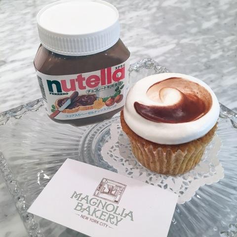 ヌテラ カップケーキ
