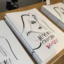 スターバックスカードのイラストでも有名!【大橋美由紀さん】個展「WOMAN」開催中!