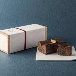 〔チョコレートとあずき〕なめらかなチョコレートテリーヌ【しょこらすぎ】
