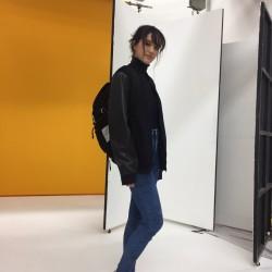 スポーティなカジュアルコーデ【菊川リサ】私服SNAP