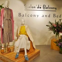 【サロン ド バルコニー】素材にこだわった心地の良い春の服