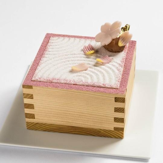フォトジニックな人気パフェ【茶房パフェ】が桜仕様に!
