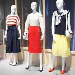 【GU】働く女性へのコレクション 夏のテーマは「エクスペリメンタルマリン」
