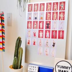 夏の色鮮やかなランジェリー【YUMMY MART / ヤミーマート】人気のスイムウェアも!