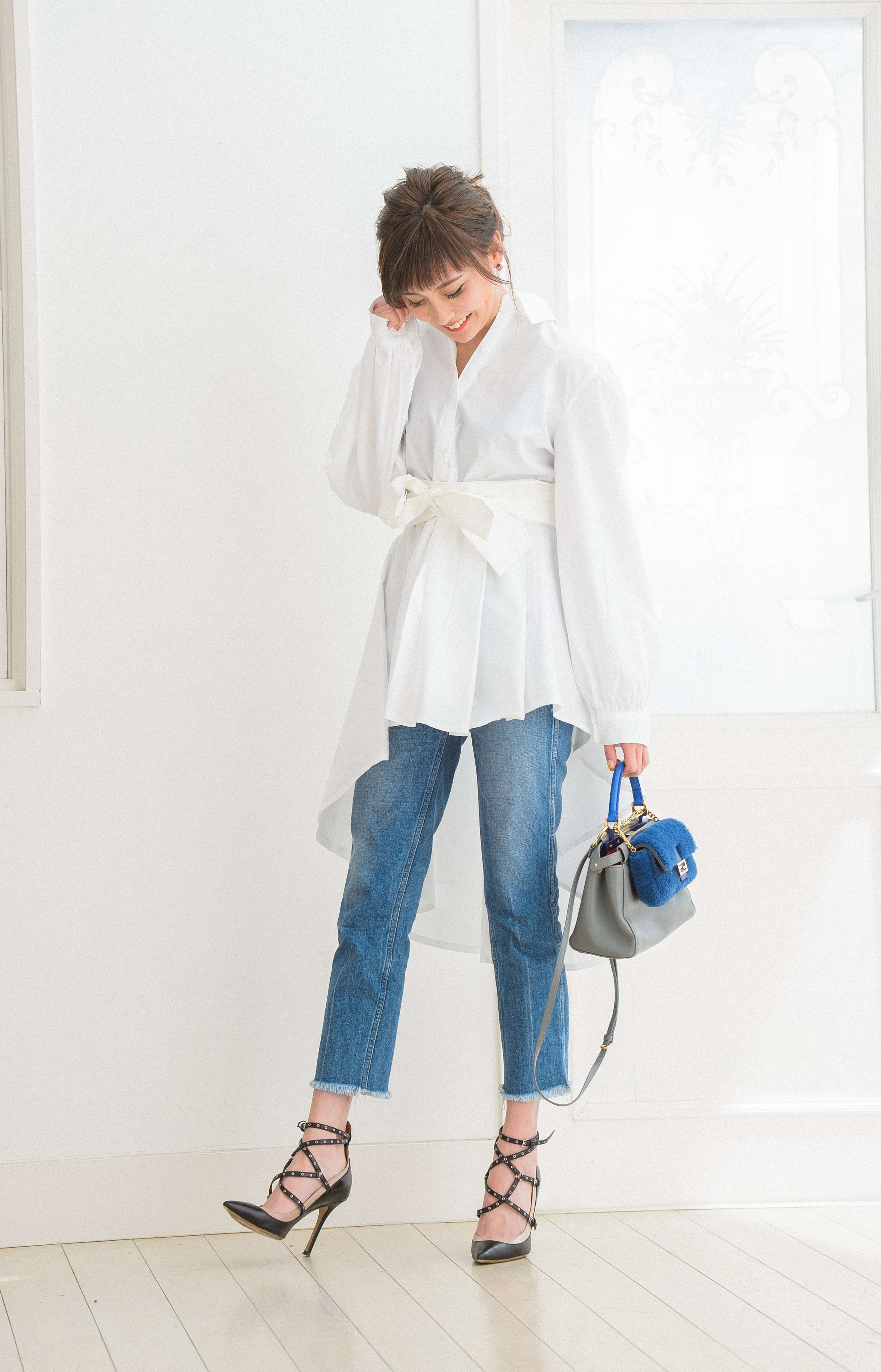 \JJ5月号連動/NEXTいい女代表・木村安梨沙を全解剖!【番外編】~ ファッション編~