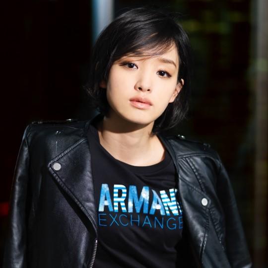 A|Xアルマーニ エクスチェンジイメージ アンバサダー に女優の剛力彩芽さん