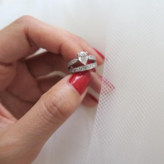 みんなの「婚約&結婚指輪」見せてください❤#3 脇水麻衣さん