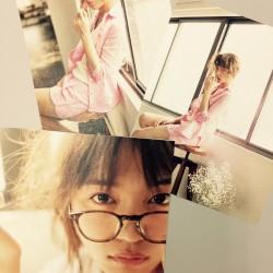 川口春奈さんが着る、大人のパジャマ♡