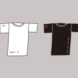 【限定】自分だけのアニエスベーTシャツを作ろう!