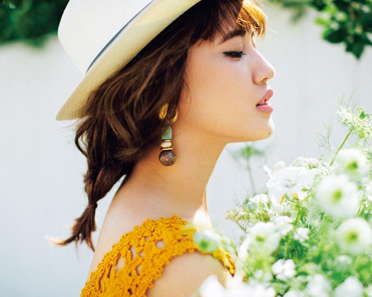 ルーズな感じが可愛い藤井夏恋のヘアスタイル