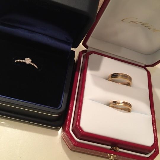 みんなの「婚約&結婚指輪」見せてください❤        #4 クリスティー麻里子さん