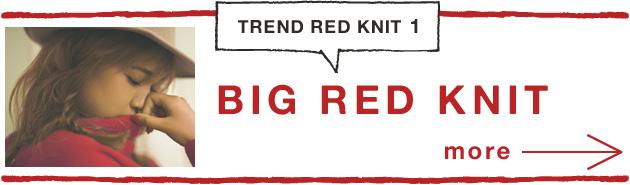 BIG RED KNIT