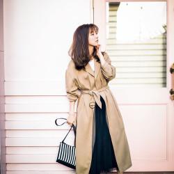 [真野恵里菜][小林さり][Sサイズ]誰でもスタイルよく見える春アウター8選