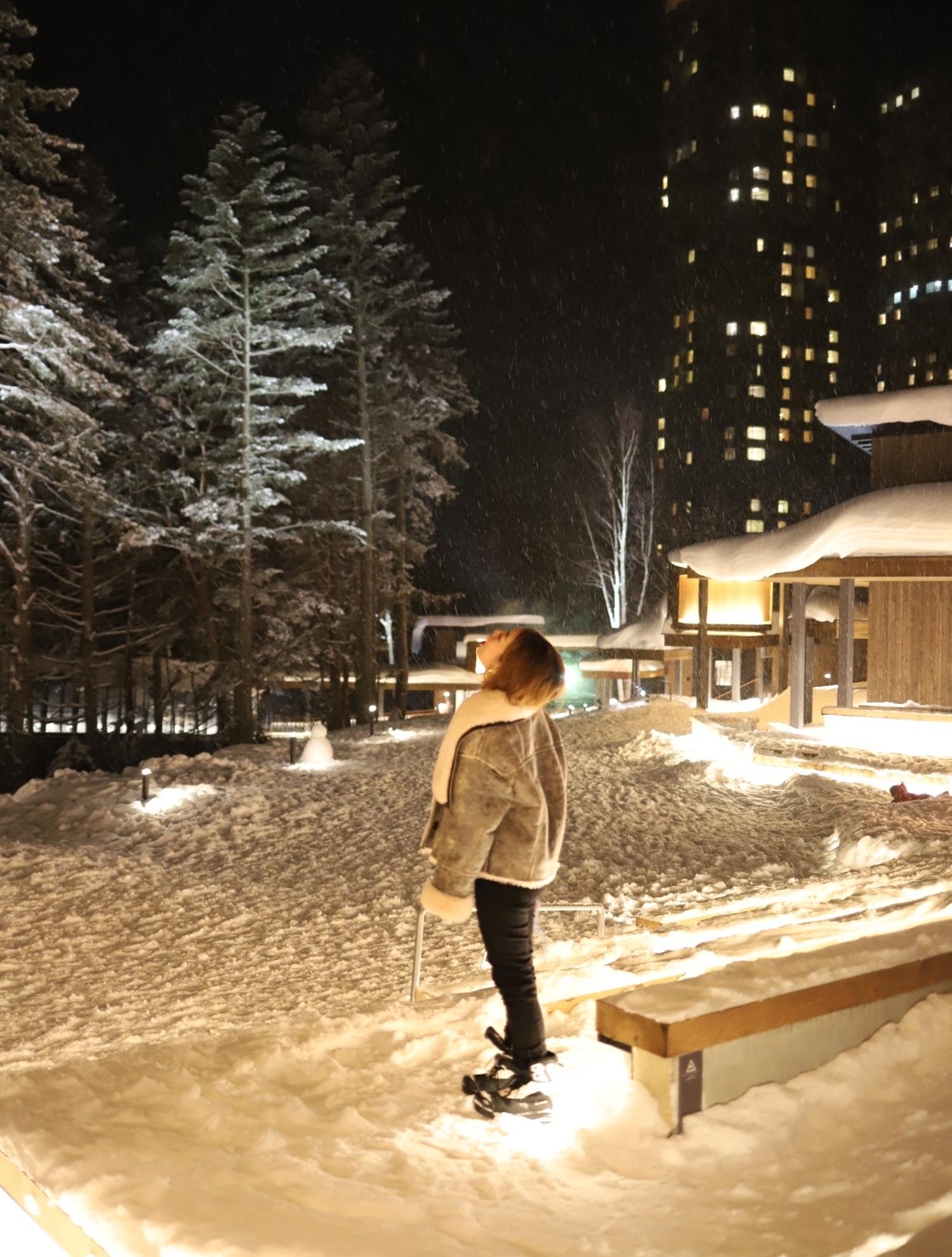 @sakiiiyaが行く!~星野リゾート トマムの雪ガールステイプラン~【カメラ片手に立ち話。@sakiiiya】特別編その2