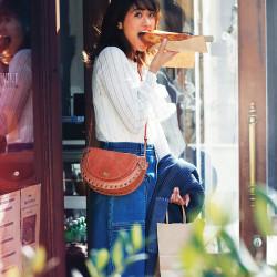 【連載】今月の「手ぶらバッグ」See By Chloé [川口優菜]