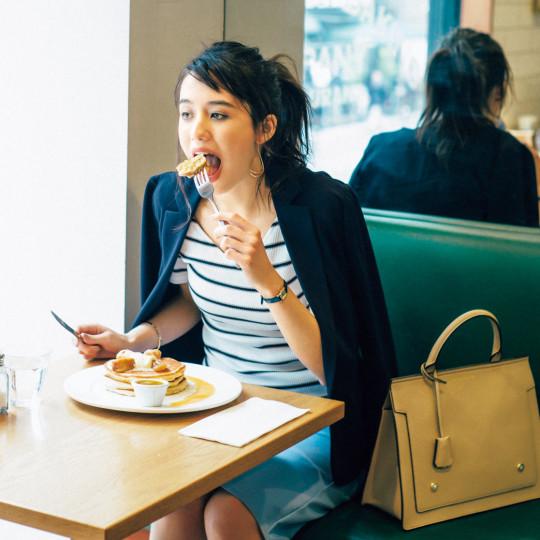 新人リサ×GUの〝脱五月病〞着回し物語 Vol.1