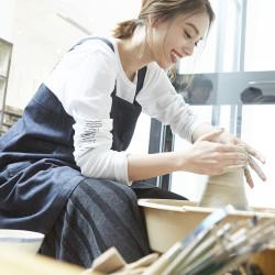 滝沢カレン、at Kiln AOYAMAで陶芸初挑戦♡