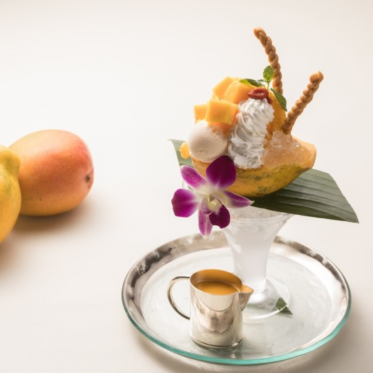 食後の〆に。 オトナのためのプレミアムパフェ【グランド ハイアット 東京】