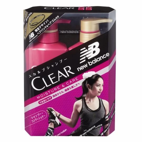 「New Balance」ロゴ入りヘアバンド・ヘアゴム付き【CLEAR】コラボ限定ポンプペア発売