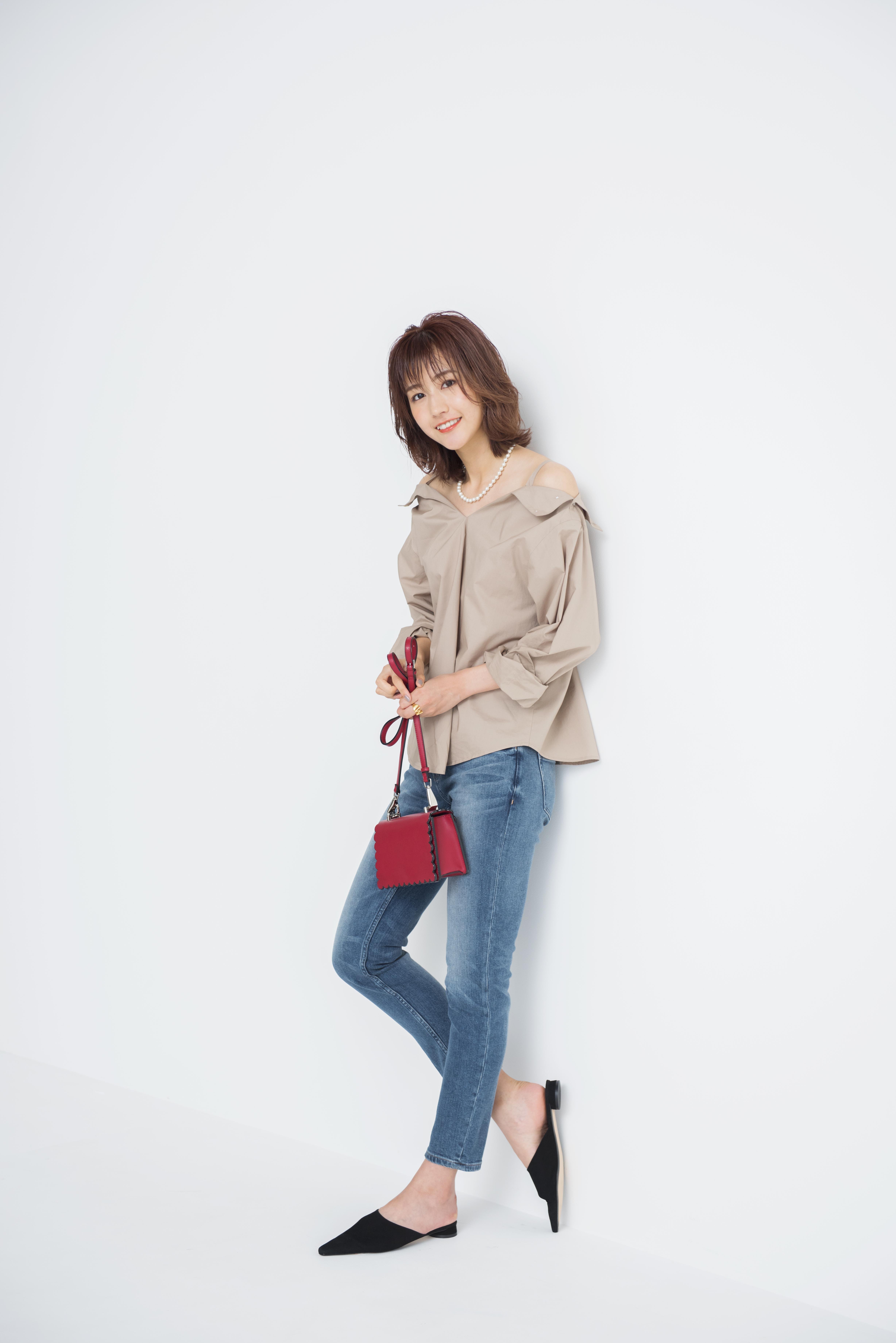 欅坂46土生瑞穂が着こなす「背が高いからこそ似合う美人コーデ」