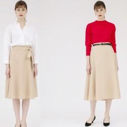 ピッタリサイズが選べる「美人丈」スカートが¥3,900