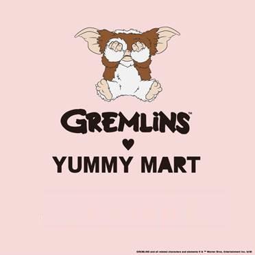ギズモがたくさん!グレムリンとヤミーマートの特別コラボ♡