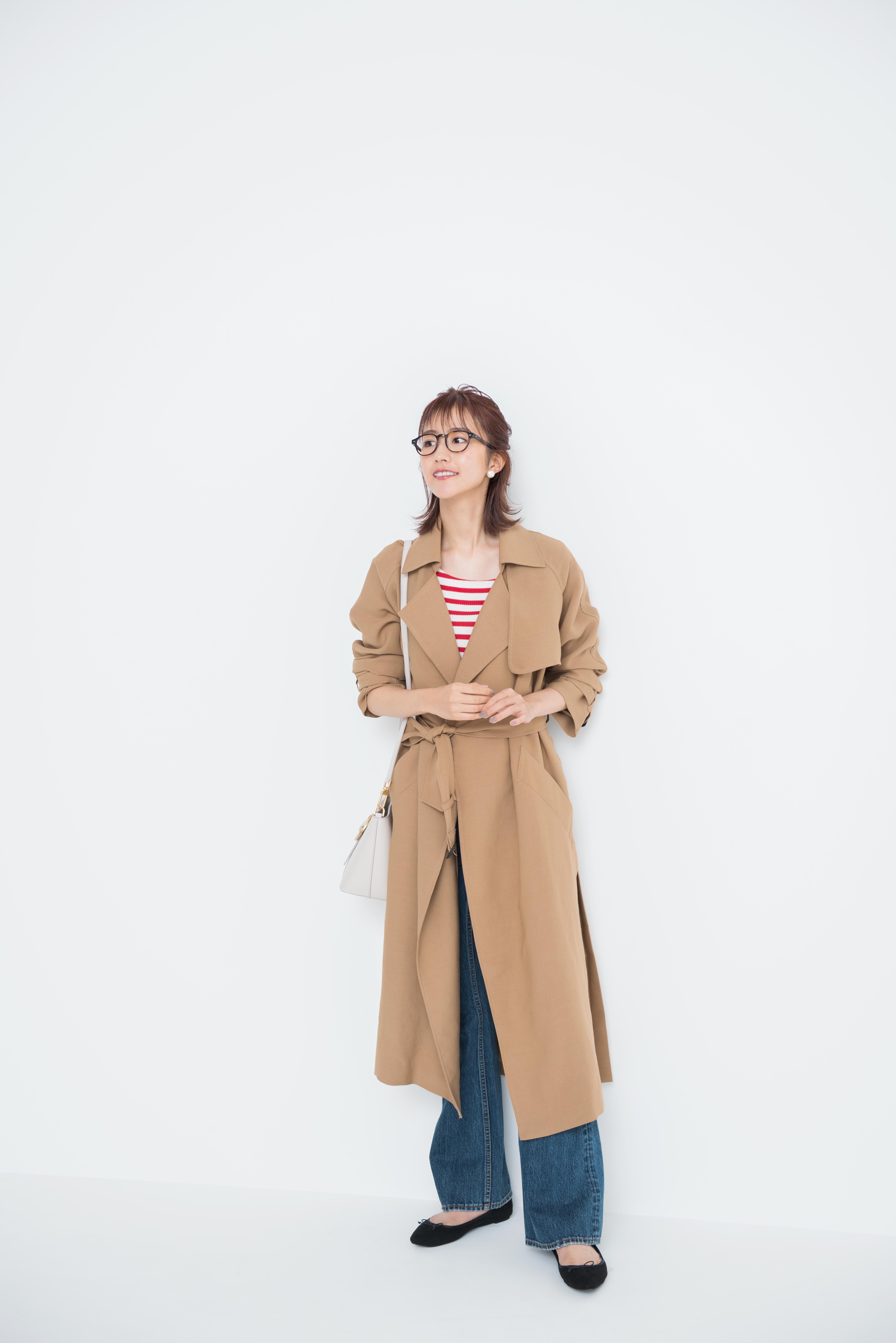 欅坂46土生瑞穂が着こなす「背が高いからこそ似合う美人秋コーデ」