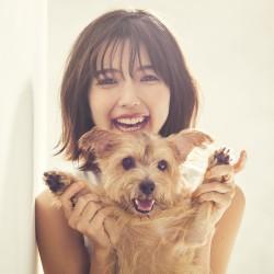 祝・真野恵里菜結婚♡愛犬との写真を撮り下ろし!!