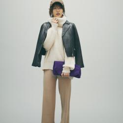 欅坂46土生瑞穂が着こなす「背が高いから似合うぺたんこ靴」