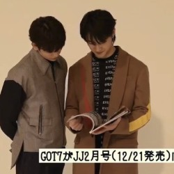 GOT7がJJ2月号に登場!スペシャルムービー公開♡
