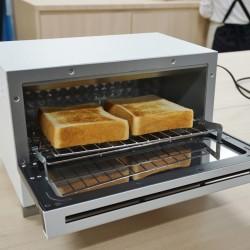 """1分で\サクッふわ/なトーストが焼ける""""すばやき""""トースターが本当においしい!"""