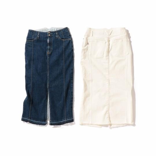 女性らしくて履きやすい「大人のデニムスカート」BEAMSで見つけた!