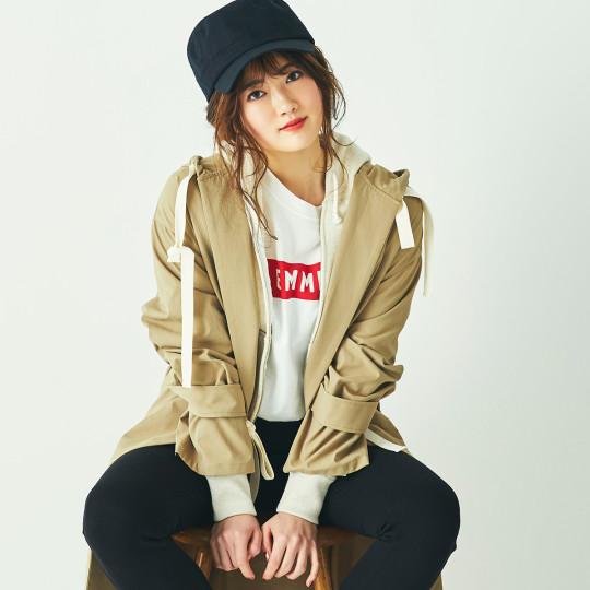 乃木坂46樋口日奈が着る「絶対におしゃれに見えるパーカ」コーデ