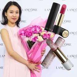 憧れ!戸田恵梨香さんの好印象リップは「ランコム」の完売した伝説リップだった!