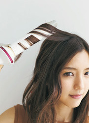 真野恵里菜もやってみた!「まとめ髪の日」の基本の巻き方