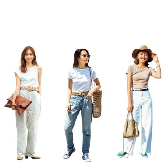 Tシャツを絶対おしゃれに見せてくれる夏小物7選|バッグ・ピアス・ベルト