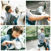 【M!LK新連載がいよいよスタート!】佐野勇斗くんとバイクで二人乗りデートへ…♡