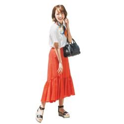 楽~に華やかさGET♡「Tシャツ×フレアスカート」コーデ16連発!