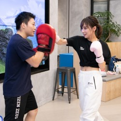 「キックボクシングでタイを体験!with 瀬戸晴加」~会えるJJレポート~