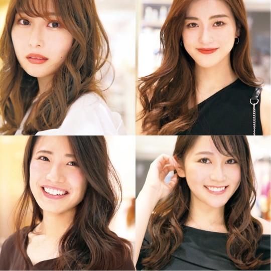 名古屋美人の最強にかわいい「ゆるふわ巻き髪」カタログ