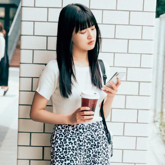 脚長効果バツグン♡コンパクトT×ワイドパンツコーデ【韓国ECで買ったものだけで1カ月着回し】