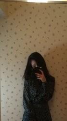 黒のワンピース