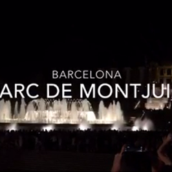 #15感激!噴水ショー INバルセロナ